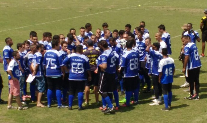 Barra Mansa Sloths jogou pela primeira vez em casa (Foto: Reprodução/TV Rio Sul)