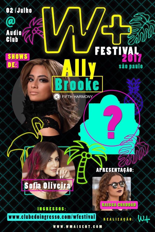 Ally Brooke  confirmada como uma das atraes do W+ Festival, que acontece em julho, em So Paulo (Foto: Divulgao)