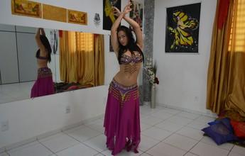 Miss de RO adota dança do ventre como esporte para manter saúde física