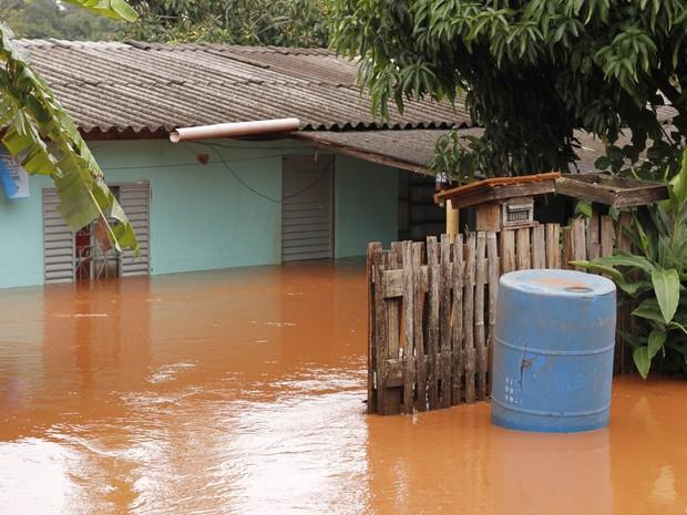 Campo Mourão ficou sem água depois da chuva forte. (Foto: Prefeitura de Campo Mourão/Divulgação)