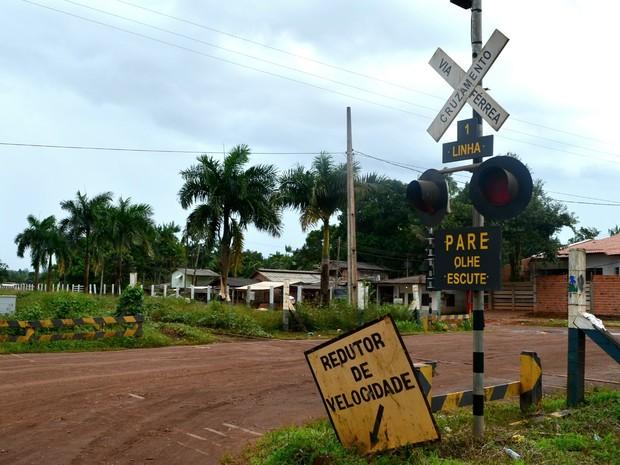 Ferrovia está parada e sem previsão de retorno no Amapá (Foto: Abinoan Santiago/G1)