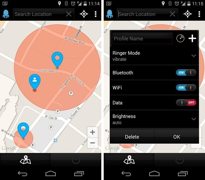 Octo é um app que cria configurações automáticas personalizadas para o Android (Foto:Divulgação/Octo)