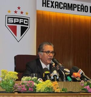 Carlos Miguel Aidar vota eleição São Paulo (Foto: Carlos Augusto Ferrari/GloboEsporte.com)