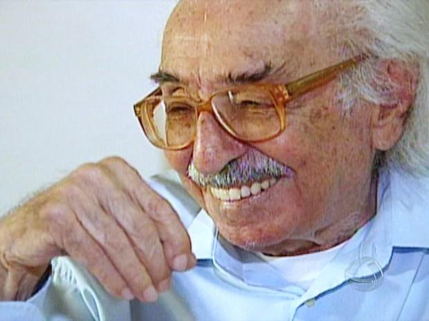 Manoel de Barros (Foto: Reprodução/TV Morena)