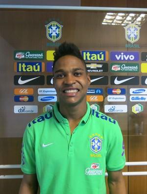 Wendell Seleção Brasileira (Foto: Felipe Schmidt)