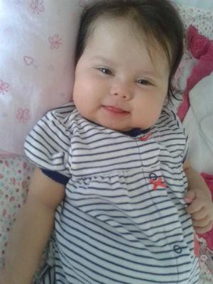 Sofia recebeu alta do hospital no dia 14 de agosto (Foto: Divulgação/ Campanha Ajude a Sofia)