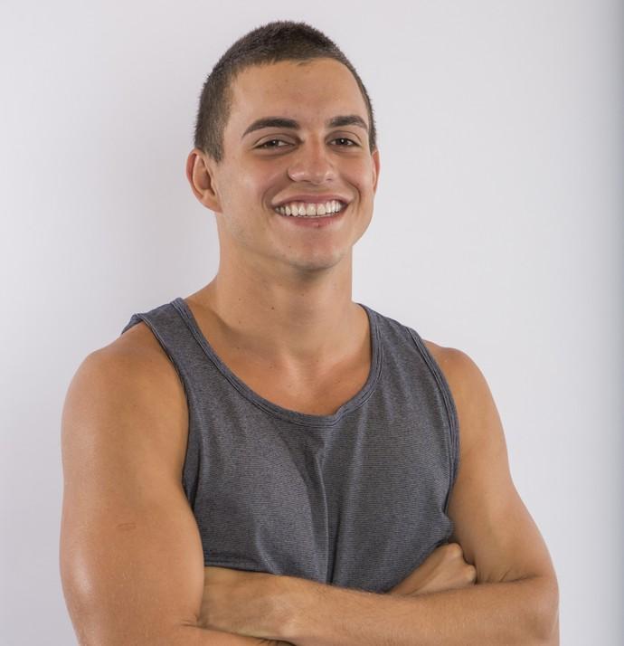 Manoel é participante do BBB17 (Foto: Artur Meninea / Gshow)