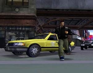 Cena de 'GTA III' do PlayStation 2, que será lançado para celulares e tablets (Foto: Divulgação)