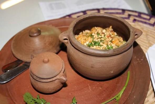 Dica de receita: buchada de bode com arroz e molho de cajuína apimentado (Foto: Reprodução/TV Clube)