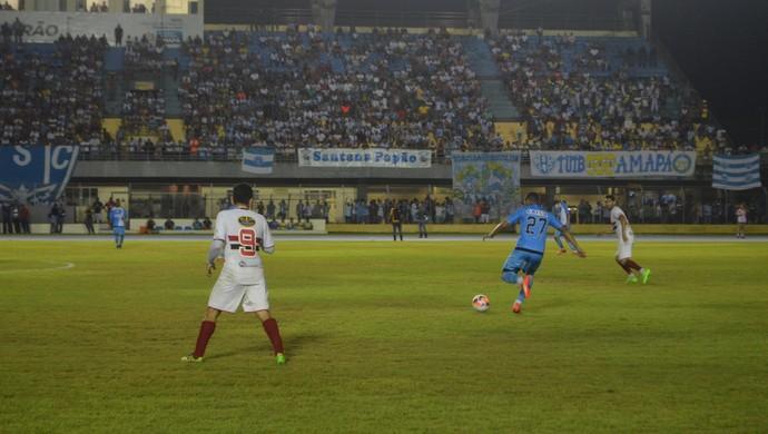 São Paulo-AP; Paysandu; Futebol (Foto: Rafael Moreira/GE-AP)