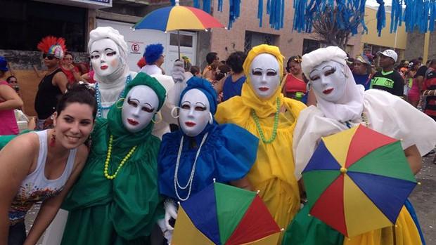 Cores e máscaras nos papangus de Bezerros (Marjones Pinheiro / TV Globo)