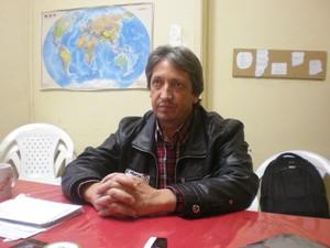 Gilmar Salgado (Foto: Luan Martendal/G1)