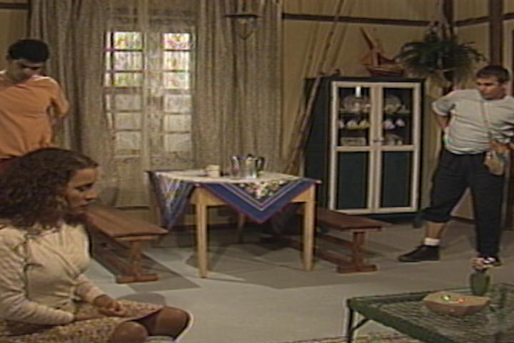 Dalua diz para Glorinha e Tito que quer morar junto com Alzira (Foto: reproduo/viva)