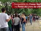 Cosac Naify ganha local nobre em sua última Festa do Livro da USP