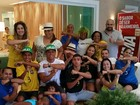 Família de Thiago Silva homenageia Neymar e o capitão da seleção