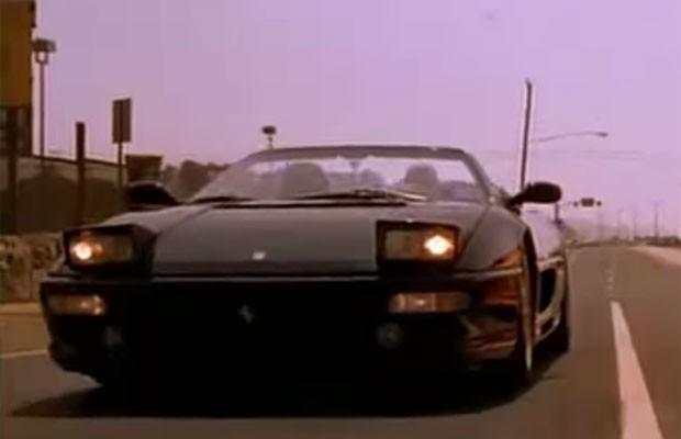 698b112cee3 Ferrari F355 ficou com imagem ruim no filme (Foto  Reprodução YouTube)