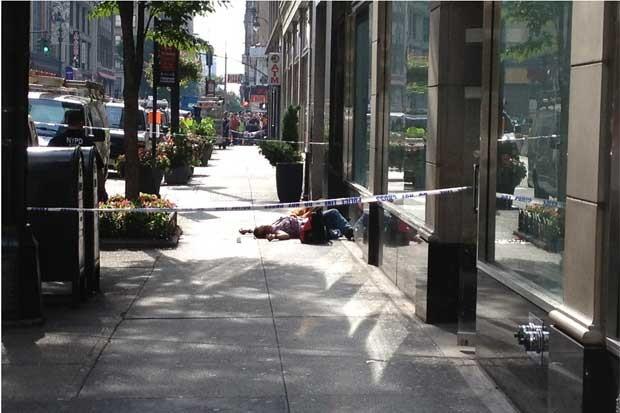 Vítima de tiroteio no Empire State Building, em foto divulgada no Flickr (Foto: Reprodução)