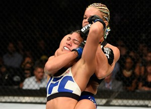 Felice Herrig x Kailin Curran UFC Chicago (Foto: Getty Images)