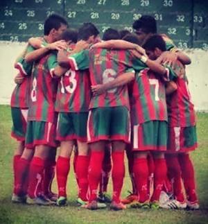 Portuguesa Santista sub-20 (Foto: Reprodução / Instagram)