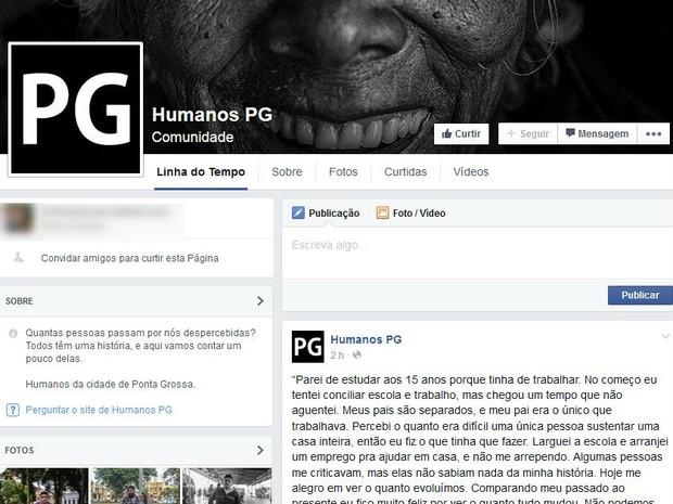 Mais de 4 mil haviam curtido a página até a manhã de sexta (26) (Foto: Reprodução/Facebook)