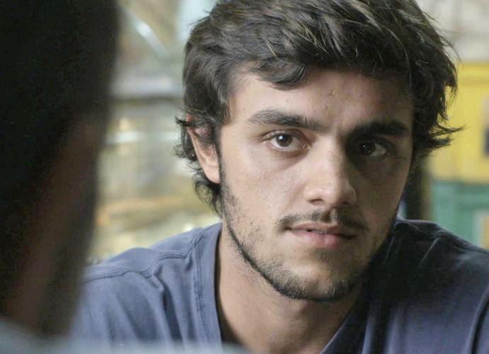 Jonatas encontra com Germano e todo-poderoso oferece uma vaga na Bastille (Foto: TV Globo)