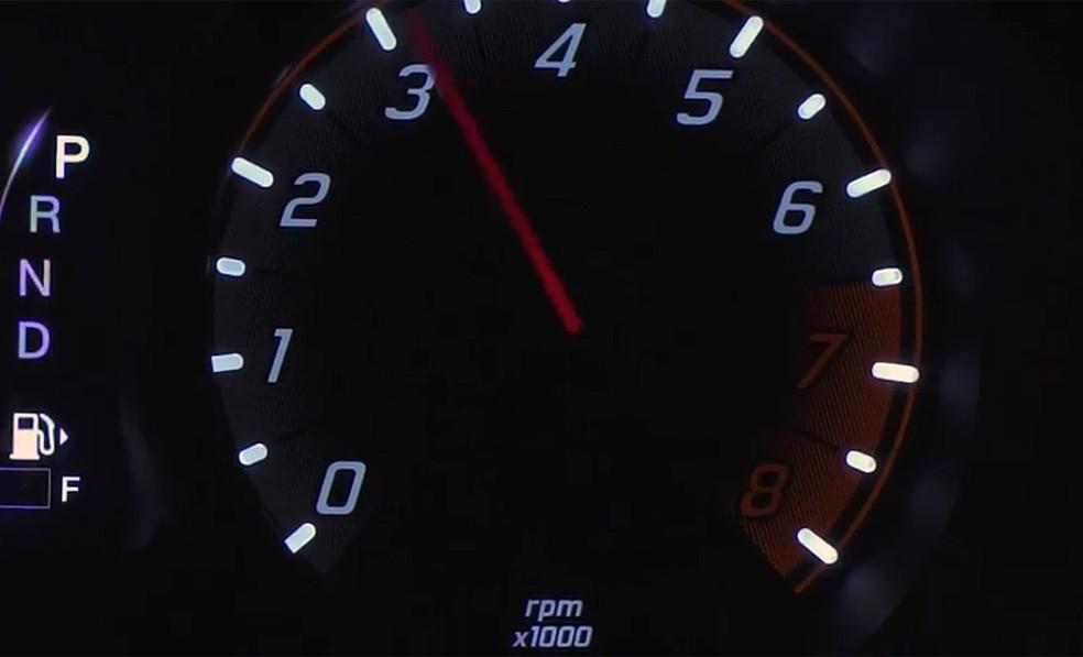 Fiat Argo - Conta-giros e câmbio automático (Foto: Reprodução/FCA)