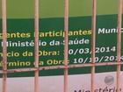 Duas obras paradas em bairro geram queixas de moradores em Araras, SP