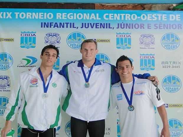 Pepeu foi um dos destaques de MT na competição. Os nadadores do estado conquistaram 68 medalhas. (Foto: Assessoria/Divulgação)