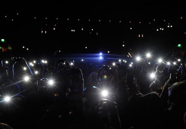 show; smartphones; celulares (Foto: Getty Images)