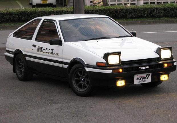 Toyota AE86 Trueno (Foto: Reprodução)
