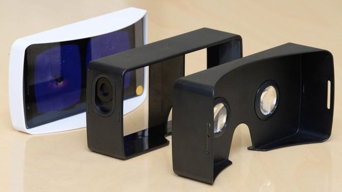 VR da LG funciona integrado com o smartphone LG G3 (Foto: Divulgação/LG) (Foto: VR da LG funciona integrado com o smartphone LG G3 (Foto: Divulgação/LG))