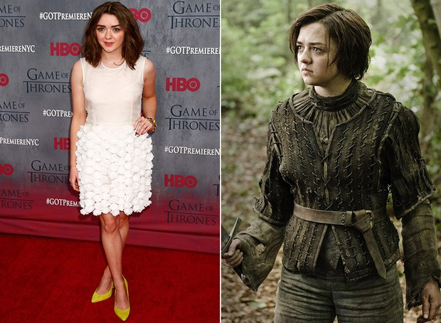 Game of Thrones - Maisie Williams (Foto: Reuters | Divulgação)