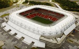 Imagem aérea da Arena Pernambuco (Foto: Divulgação)