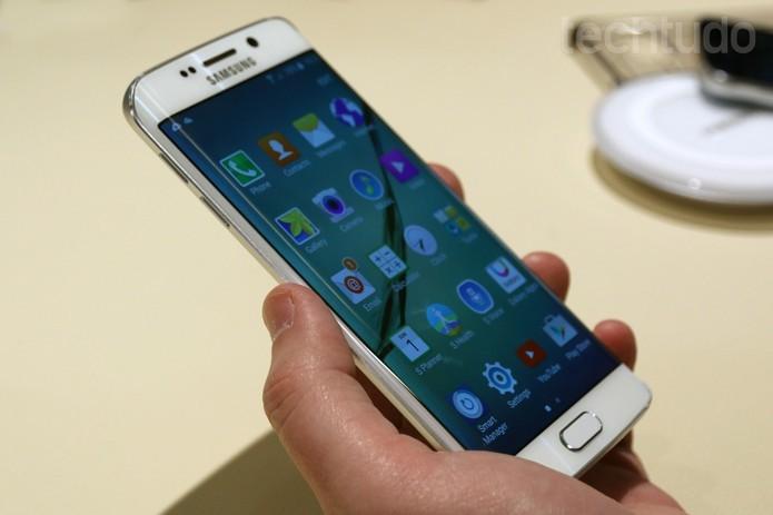 Galaxy S6, da Samsung (Foto: Isadora Díaz/ TechTudo)