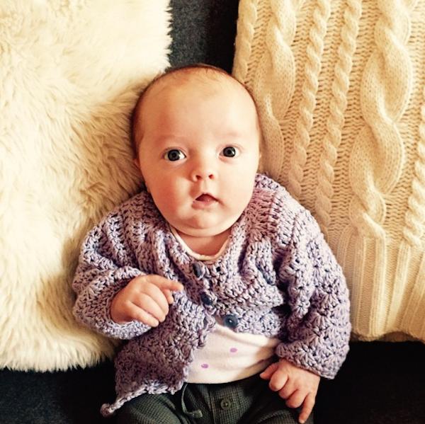 A filha do apresentador Jimmy Fallon (Foto: Instagram)