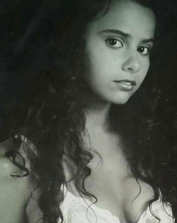 Viviane aos 16 anos (Foto: Reprodução Instagram)