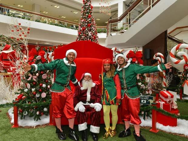 Decoração para o Natal deste ano do shopping Piedade, em Salvador (Foto: Divulgação)