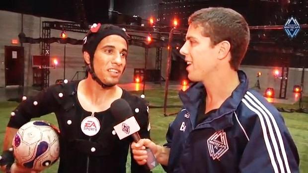 Camilo Sanvezzo Vancouver Whitecaps MLS EA Sports Fifa (Foto: Divulgação/Vancouver Whitecaps)