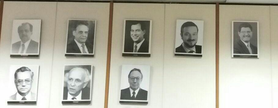 Mantega: ausência na galeria de fotos do Conselho Monetário Nacional (Foto: Reprodução)