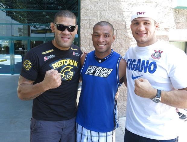 Pezão e Cigano MMA UFC (Foto: Marcelo Russio)