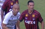 Atlético-PR e JMalucelli criam pouco e ficam no empate no Ecoestádio (Reprodução/Premiere)
