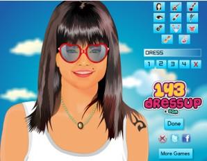 Selena Gomez Facial Makeover Spa