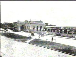 Estação foi construída ainda no Brasil imperial (Foto: Helder Ribas/ divulgação Prefeitura de Paranaguá)