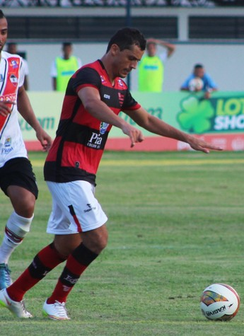 Jean Carlo, Flamengo-PI  (Foto: Stephanie Pacheco)