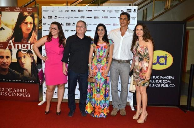 Pré-estréia do filme 'Angie', de Márcio Garcia (Foto: Léo Marinho/ Ag. News)
