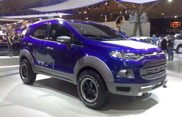 Conceito Ford Ecosport Storm no Salão do Automóvel 2014 (Foto: Filipe de Oliveira/Autoesporte)