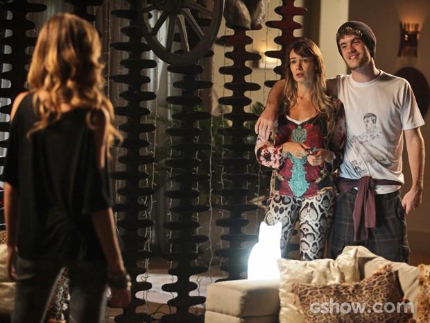 Sidney briga de novo com Sofia (Foto: Pedro Curi / TV Globo)