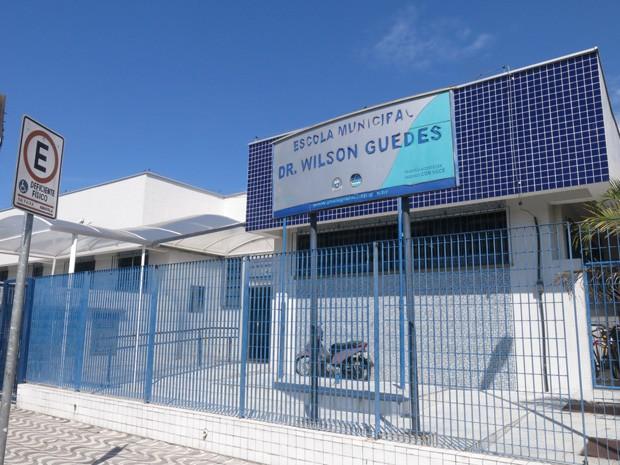 Escola de Praia Grande SP conseguiu economizar gua em trs anos Foto Mariane RossiG1