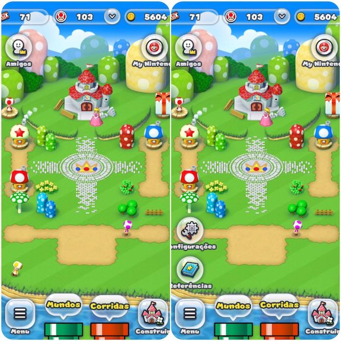 Pressione Menu e Configurações a partir do menu inicial do jogo (Foto: Reprodução/Victor Teixeira)