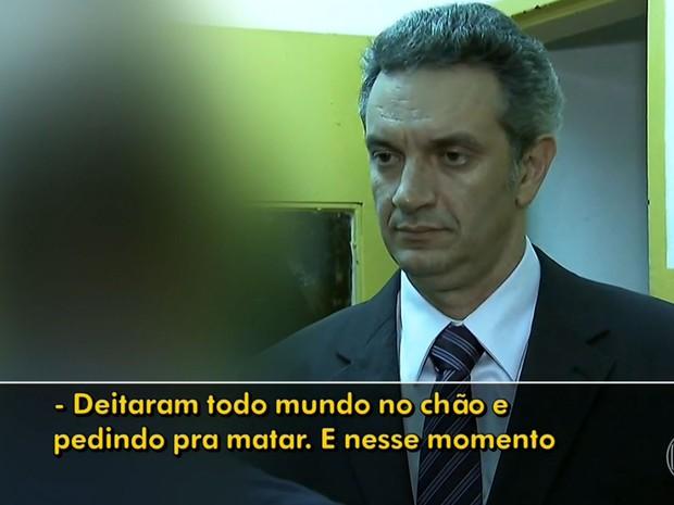 Funcionário da Fundação Casa disse que invasores eram violentos (Foto: TV Globo/Reprodução)